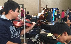 Orchestra Prepares for Region