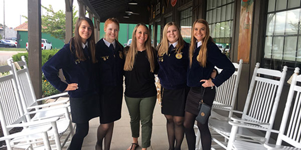 FFA Students Compete in First Competitions of the Year