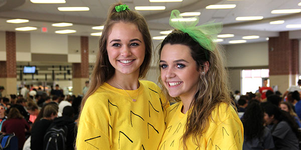 Students Dress up During Homecoming Week