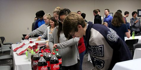 UIL Team and All-State Musicians Treated to Lunch