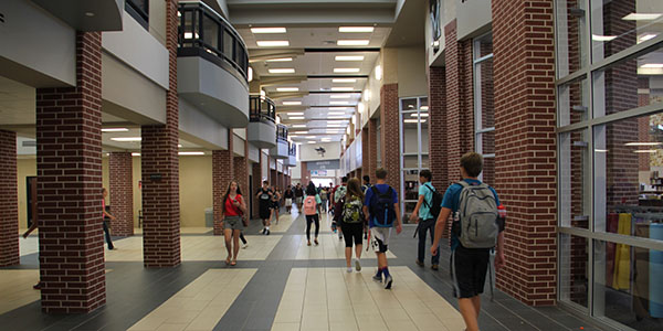 School Grows, Technology Advances
