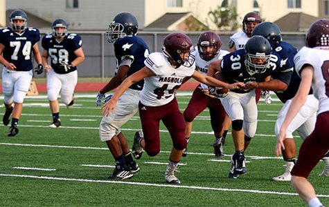 JV, Sophomore Football Teams Win Against Magnolia