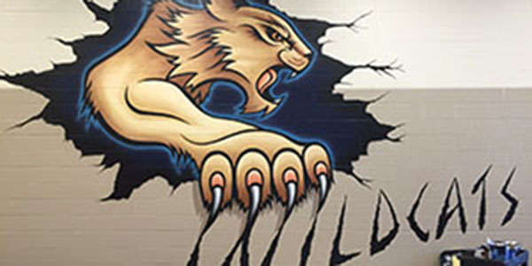 Administration Adds Murals to School, Boosts Spirit