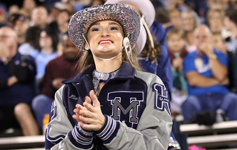 Junior Serves as Drill Team Captain