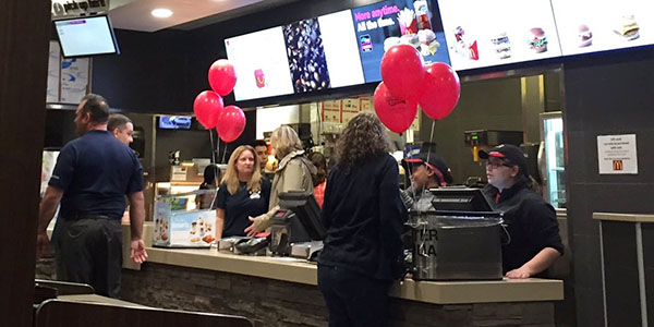 Senior Parent Organization Hosts McTeacher Night Fundraiser