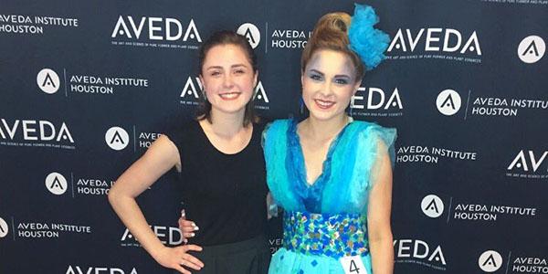 Senior Wins Aveda Institute Catwalk for Water Scholarship