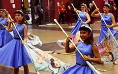 Color Guard Competes at Klein Forest