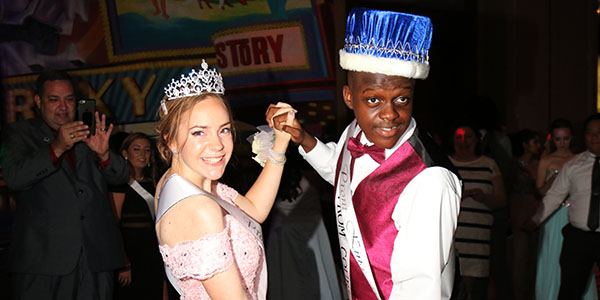 Prom King and Queen Crowned