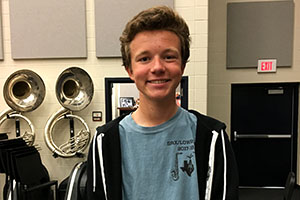 Band Student Marches to Composing for UIL