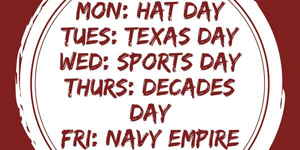 Red Ribbon Week Spirit Days Released