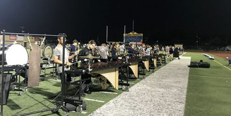 Band Prepares to Perform at State Level