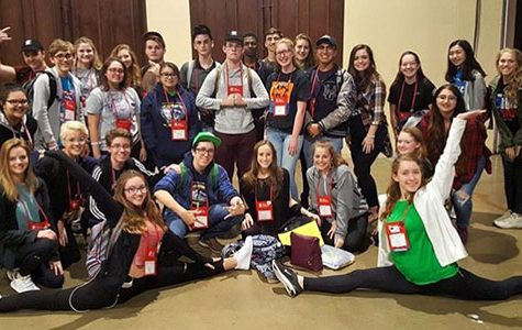 Wildcat Theatre Returns from State Festival