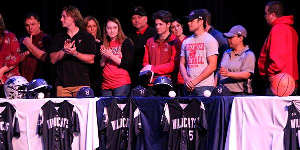 Senior Athletes Sign on to Collegiate Level