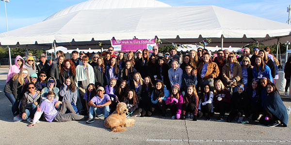Changing the world, one diabetes walk at a time