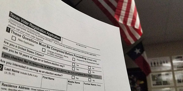 Register to vote before Oct. 9