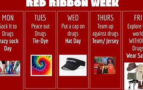 Red Ribbon Week dress up days revealed