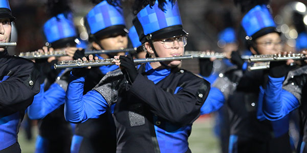 Band sweeps at Region, advances to Area