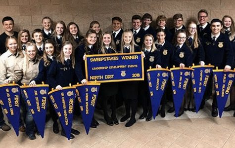 FFA prepares for Area after winning sweepstakes at District