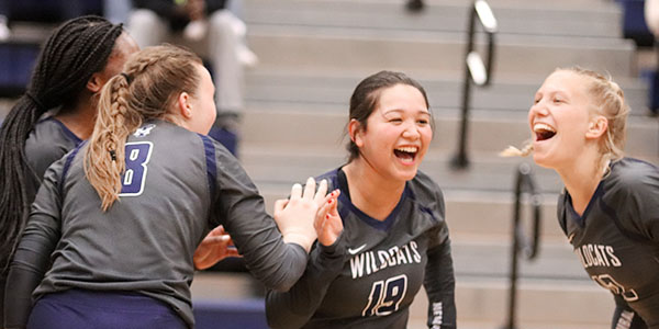 Volleyball advances to second round of playoffs