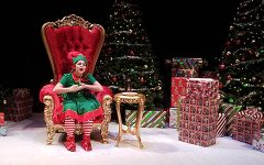 Santaland Diaries wows with snarky sarcasm