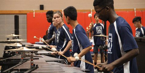 Band marches into contest season