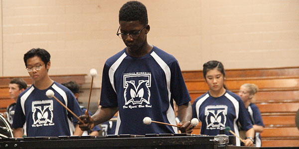 Indoor percussion to perform at Fine Arts Festival