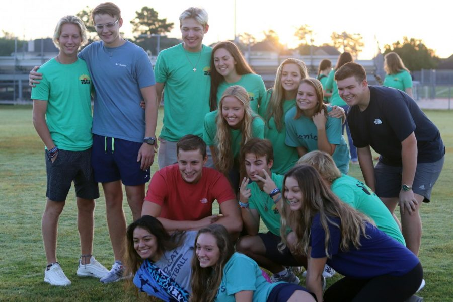 Seniors participated in a senior sunrise in the fall. A senior sunset was originally planned for the spring.