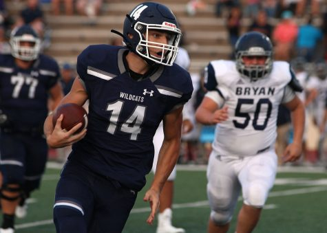 Wildcats fall short to Vandegrift in first 6A playoff game