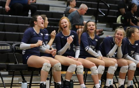 The varsity volleyball season so far: photos