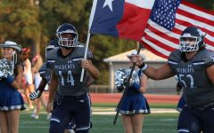 Football scores in fast-paced game against Klein