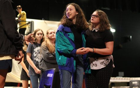 Theatre members rehearse afterschool for their upcoming show