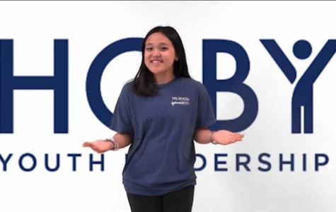 HOBY representative Julia Nguyen traveled to a leadership conference as a sophomore.