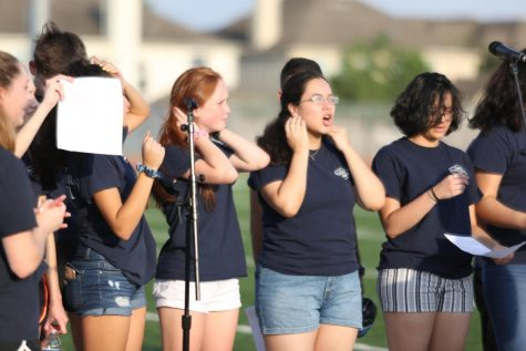 Drum majors selected for new school year