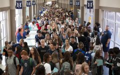 Navigating crowded halls