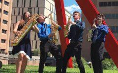 Saxophone quartet advances to national festival