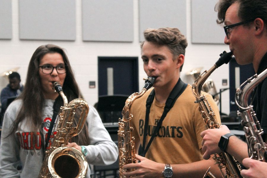 Saxophone quartet advances to national festival