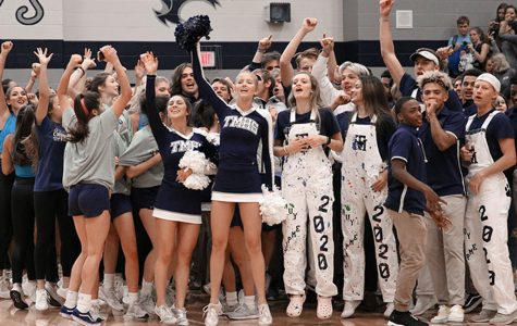 'Navy Empire' pumps up school spirit