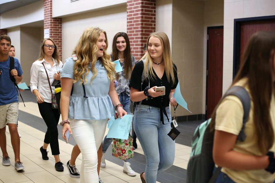 Throughout November, a district-wide anti-vaping campaign took place, affecting intermediate, junior high and high school students.