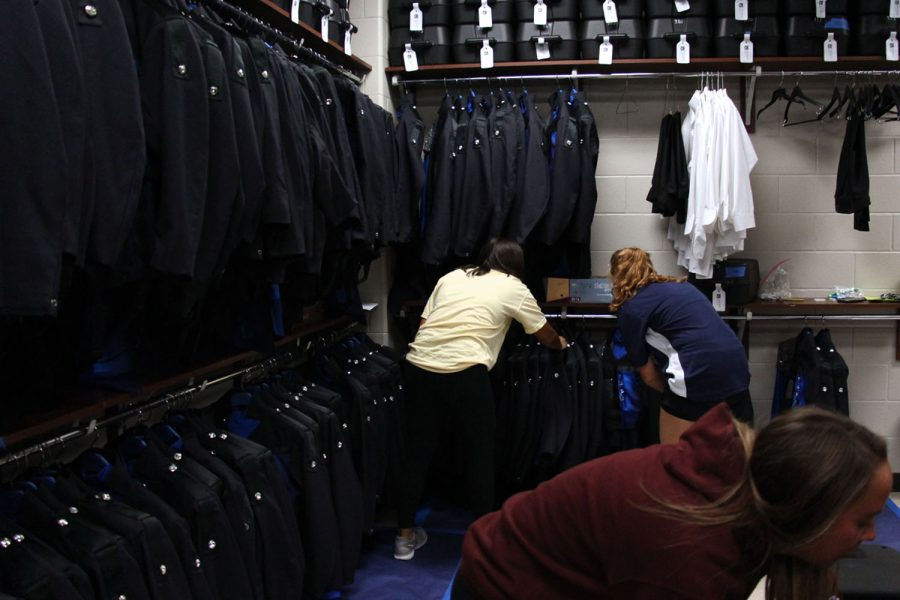 Gallery: Inside the Band Uniform Room