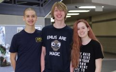 Freshman triplets take on competitive mathematics