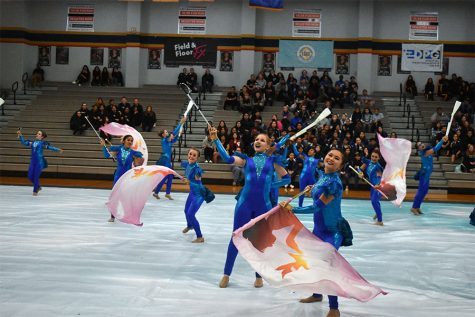 Color guard spins into competition season