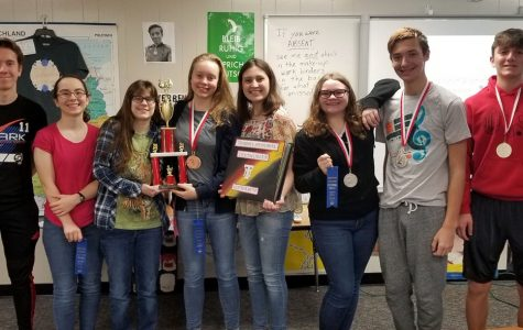 Several German students won awards over the weekend.