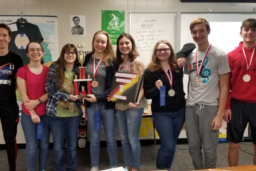 German students advance to Texas State Contest