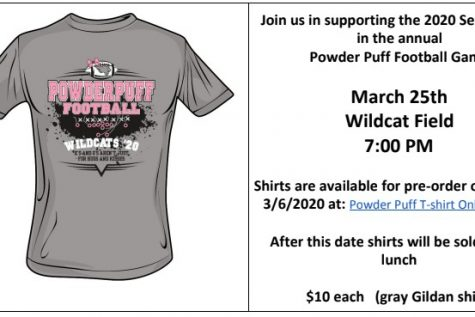 Powder Puff shirts now on sale