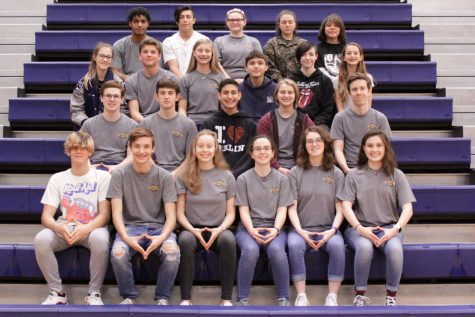 German students won many awards on Saturday at the state contest.