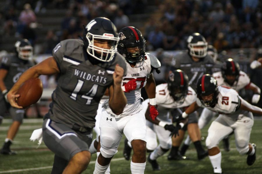 The Wildcats let their play on the field do a lot of talking in a 55-7 rout of Langham Creek