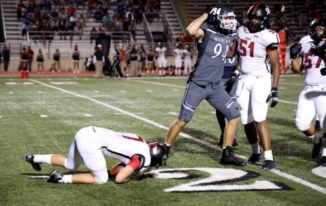 The Wildcats let their play on the field do a lot of talking in a 55-7 rout of Langham Creek.