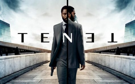 """Tenet"" stars John David Washington and is now out in theaters."