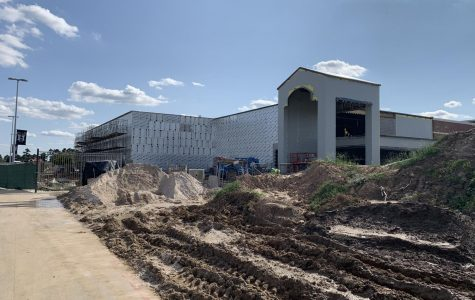 Construction of the new band hall is currently in progress, and is set to finish by January 2021.
