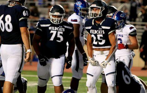 Junior Richard Rodriguez ran rampant on the West Brook defense Friday Night